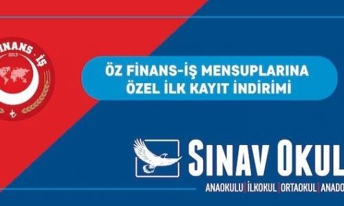 SINAV OKULLARI ÖZ FİNANS-İŞ ANLAŞMASI