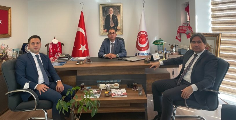 BÖLGE BAŞKANI ÇINAR'DAN 'HAYIRLI OLSUN' ZİYARETİ